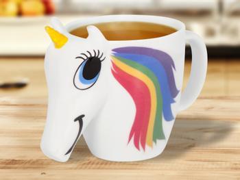 Väriä Vaihtava Unicorn-Muki