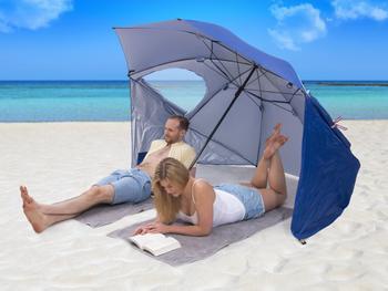 Utenu UV-auringonvarjo ja Tuulensuoja