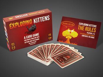 Exploding Kittens -korttipeli