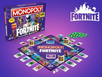 Fortnite Monopoli Peli