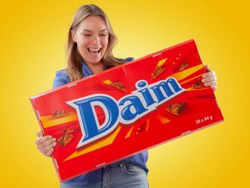 Jättimäinen Suklaa Daim
