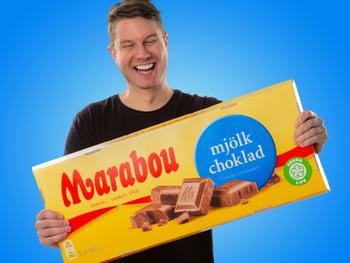 Jättimäinen Suklaa Marabou