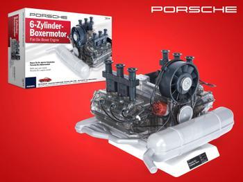 Porsche 6-sylinterinen Bokserimoottori Rakennussar