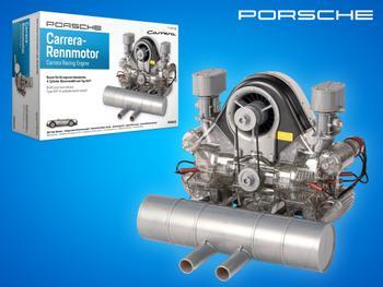Porsche 4-sylinterinen Carrera-moottori Rakennussa