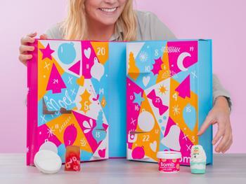 Bomb Cosmetics Kylpypommi Joulukalenteri