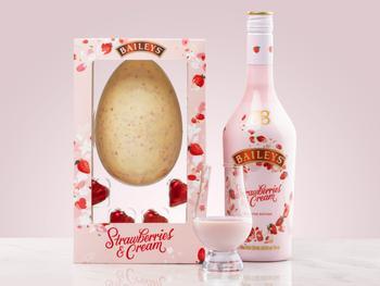 Baileys Strawberries & Cream Suklaamuna