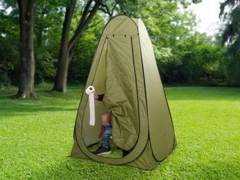Outlust® Pop-up-teltta ja camping-wc