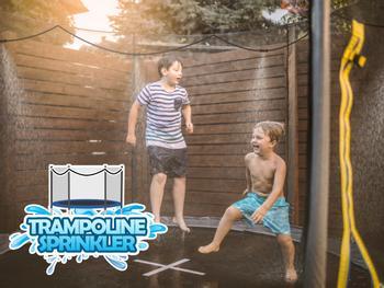 Outlust -vesisumutin trampoliiniin