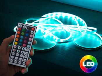 Vooni LED-valonauha kaukosäätimellä