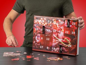 Palapeli Joulukalenteri (1000 Osaa)