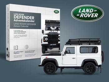 Land Rover Defender -joulukalenteri