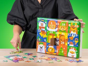 Palapeli Joulukalenteri (300 Osaa)