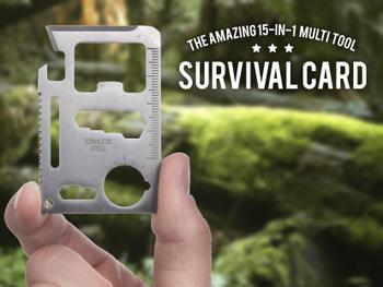 Outlust Survival Card - Monitoimityökalu