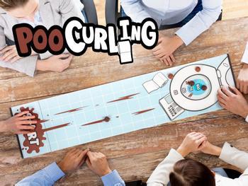 Poo Curling Peli
