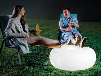 Intex Puhallettava LED-istuintyyny