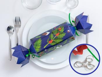 Christmas Crackers metallipulmalla 4-Pack