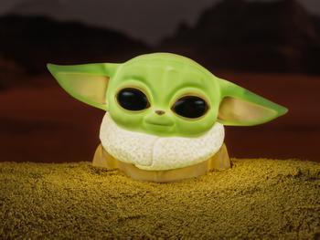 Star Wars Baby Yoda Lamppu