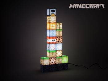 Minecraft Block Building Lamppu