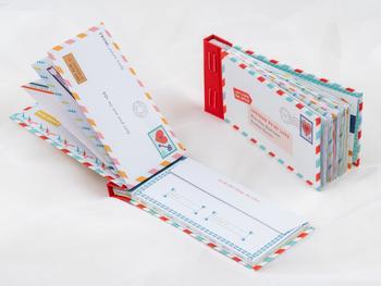Täytettävä Letters to My Love -kirje