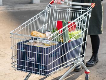 Spralla Ostoskärryyn laitettavat ostoskassit