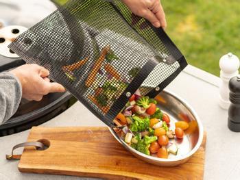 KitchPro® Non-stick grillipussit, 2 kpl pakkaus