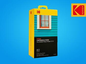 Kodak Printer Dock Valokuva- Ja Värikasetti 80-pak