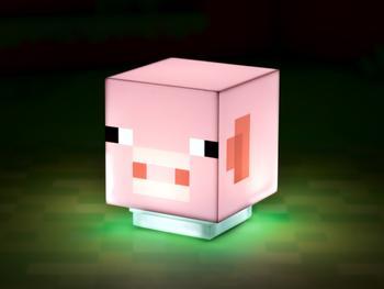Minecraft Pig Lamppu