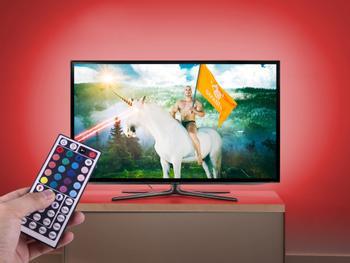 LED-valoketju TV:n taustavalaistukseksi