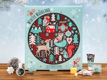 Winter Woodland -joulukalenteri