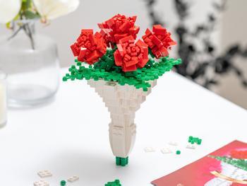 Spralla Kukkakimppu 3D-rakennussarja