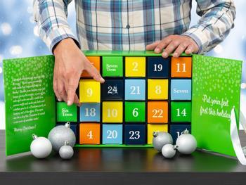 Värikäs Sukkakalenteri (40-45)