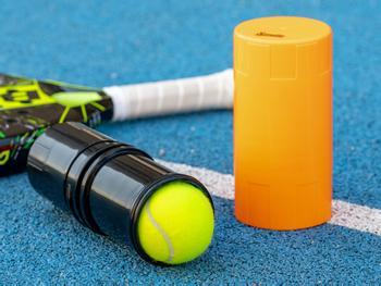 Spralla® painesäiliö padel- ja tennispalloille