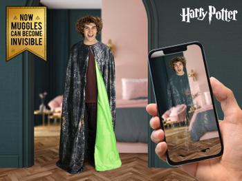 Harry Potter Näkymättömyysviitta