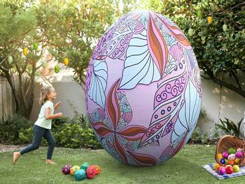 Jättikokoinen puhallettava pääsiäismuna