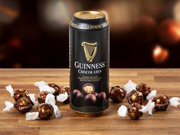 Guinness-tryffelit purkissa