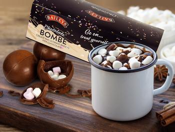 Baileys suklaapommit kaakaota varten, 3-pack
