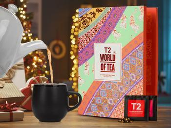 T2 World of Tea: Irtoteetä sisältävä teekalenteri