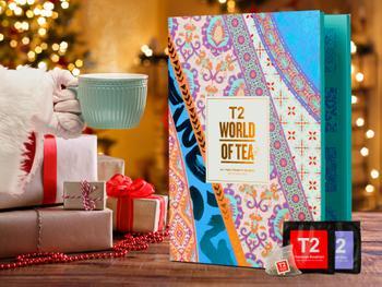 T2 World of Tea: Teepusseja sisältävä teekalenteri