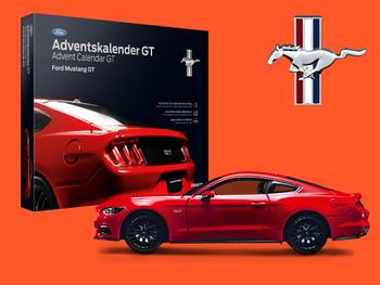 Ford Mustang GT Joulukalenteri