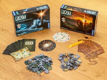 EXIT: Puzzle Escape Room -peli